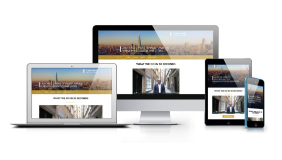 Lighthouse Capital Group – London Website Design